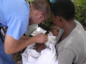 Nick giving TB vac